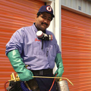 Regular pest control at A-1 Self Storage in Fountain Valley, California
