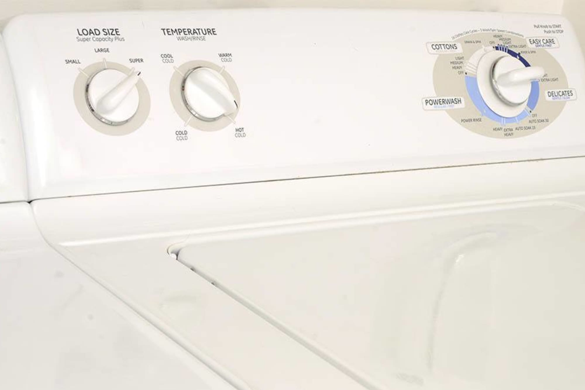 washer and dryer at Villas at Homestead Apartments