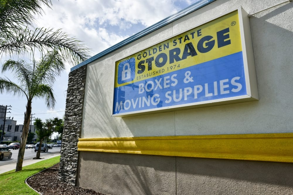 Golden State Storage and moving supplies on Roscoe Boulevard in North Hills