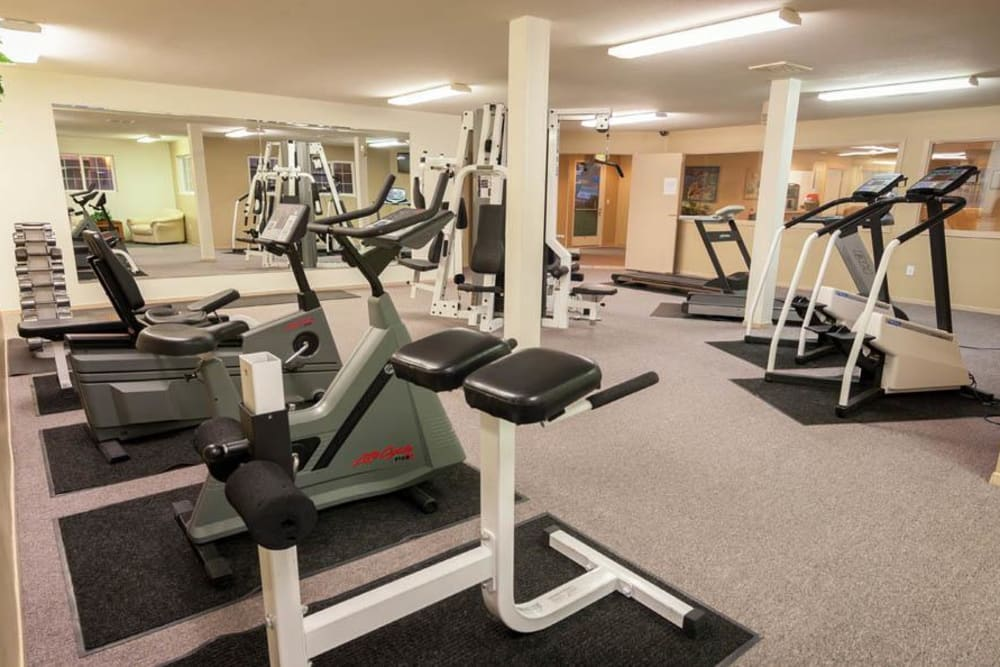 Fitness Center At Marketplace Apartments In Vancouver WA