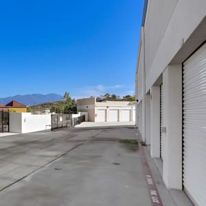 Easy-access drive-up storage units at A-1 Self Storage in Lake Forest, California