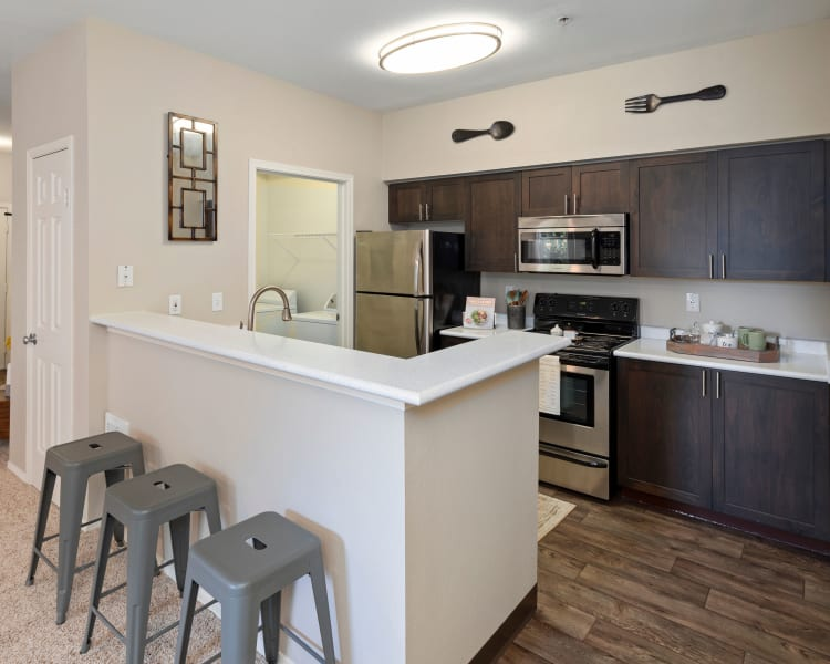 Click to see our floor plans at Wildreed Apartments in Everett, Washington