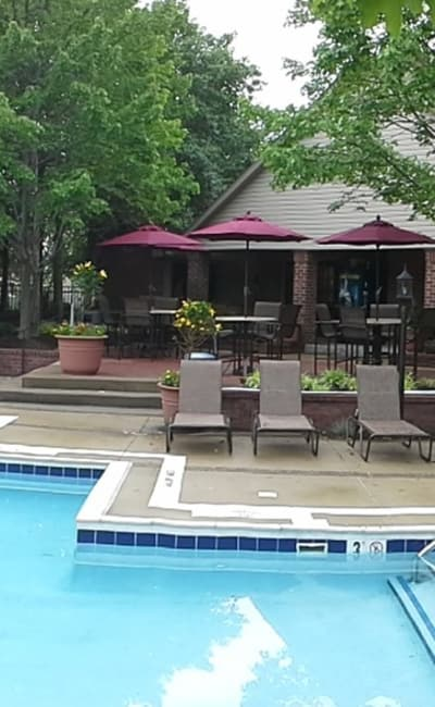 Swimming pool at Club at North Hills in Pittsburgh, PA