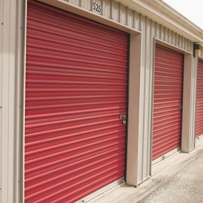 Interior storage space at Granary Storage in Salt Lake City, Utah
