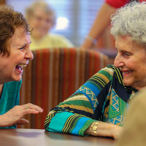Happy residents at The Crossings at Ironbridge in Chester, Virginia