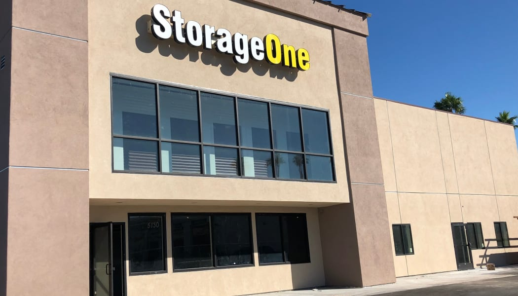 Self storage features in Las Vegas