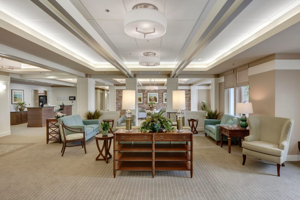 Interior at Huntington Beach senior living