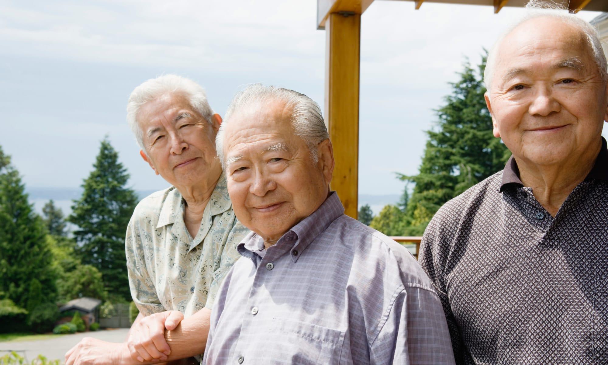 Senior living at Nikkei Manor in Seattle, Washington