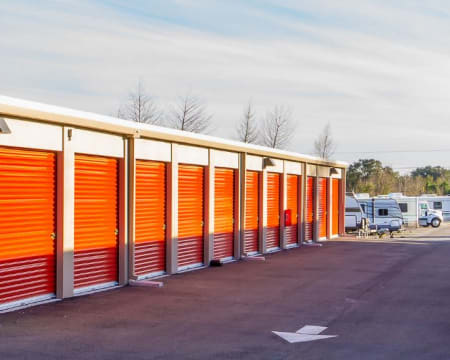 Drive up units available at StorQuest Self Storage in Redmond, Washington.