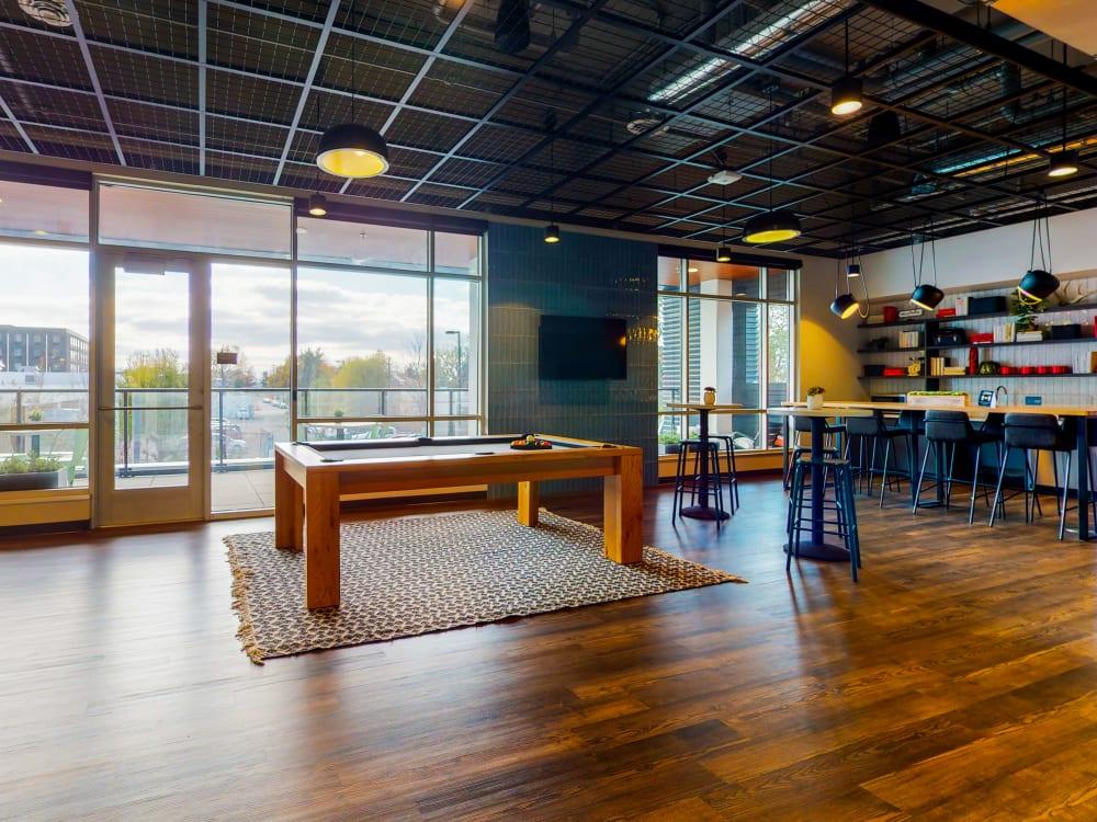 Game room at HERE Minneapolis in Minneapolis, Minnesota