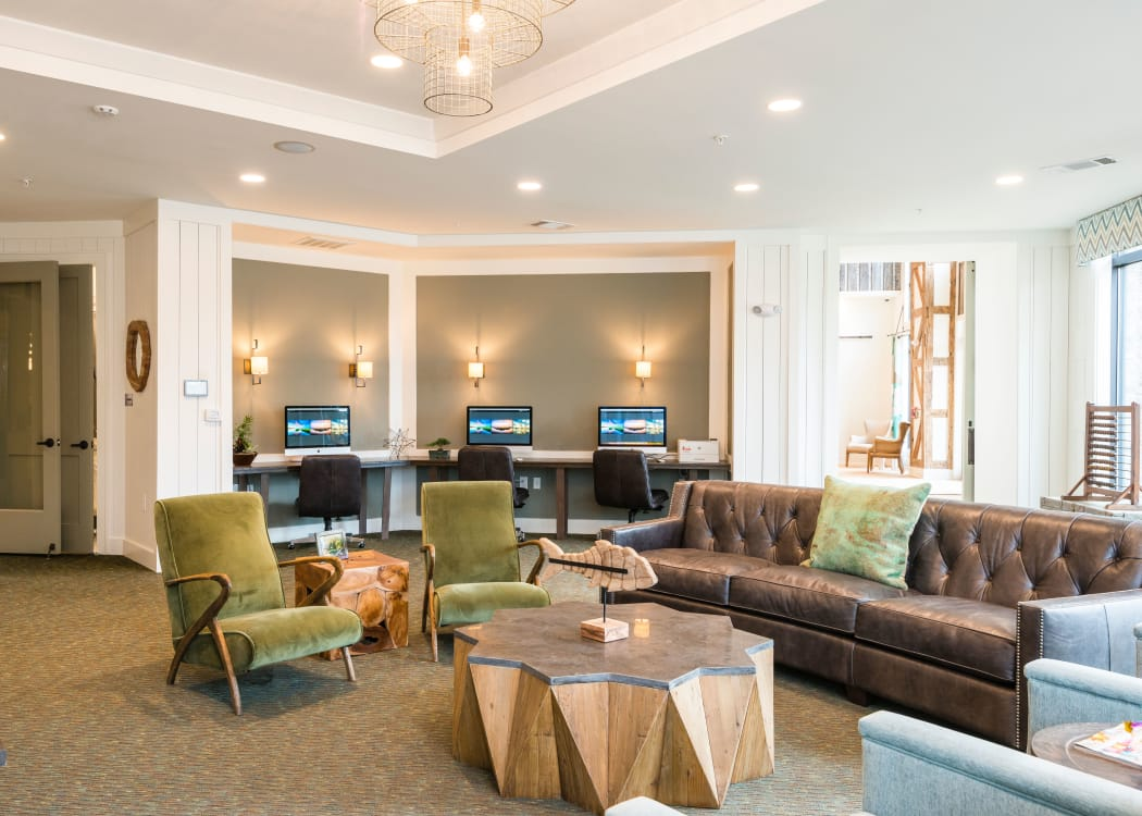 Our apartments in Charleston, South Carolina offer a business center