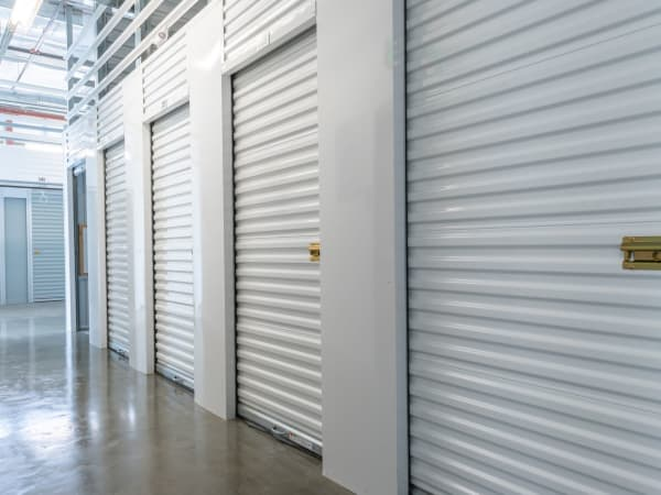 Hallway of units at StorQuest Self Storage in Portland, Oregon