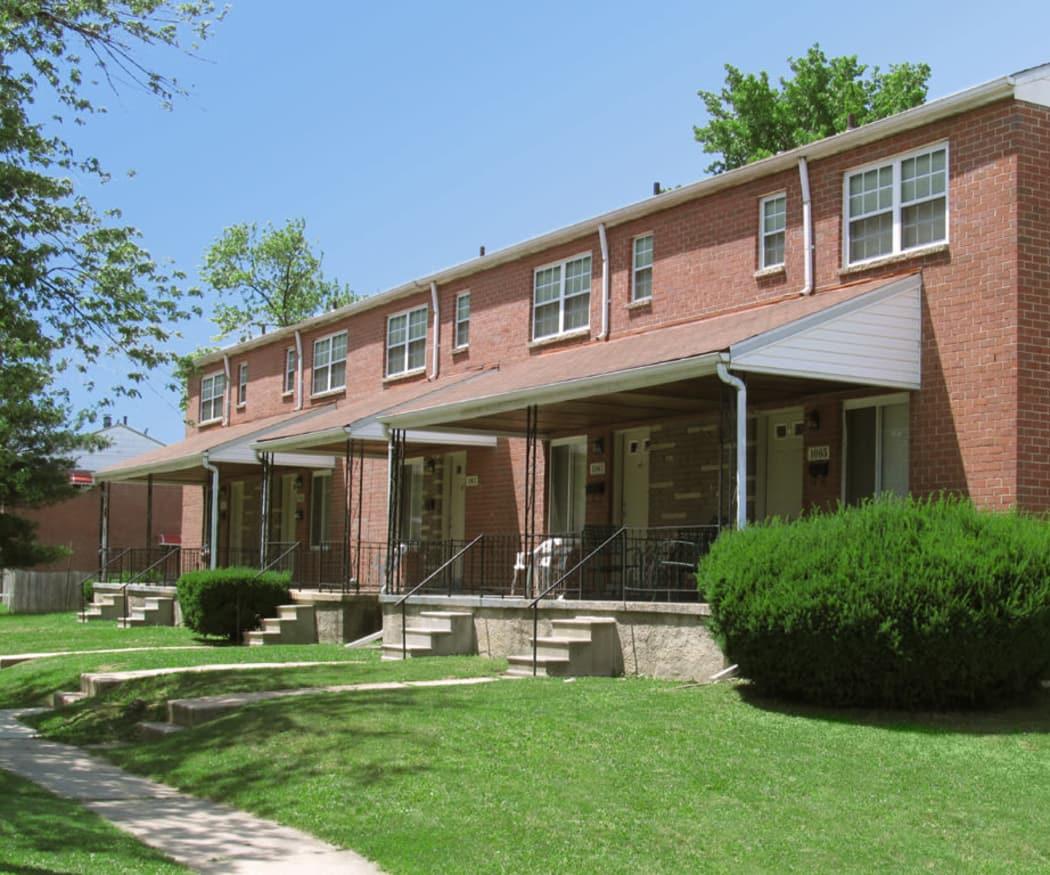 Foxridge Townhomes, Maryland apartment amenities at Foxridge Townhomes