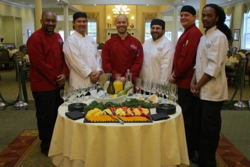 Culinary team at Waltonwood Cary Parkway in Cary, North Carolina