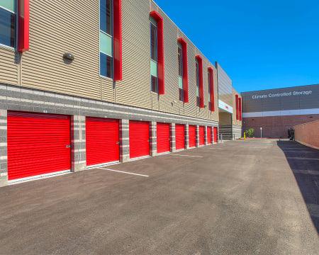 Exterior units at StorQuest Self Storage in Buckeye, AZ