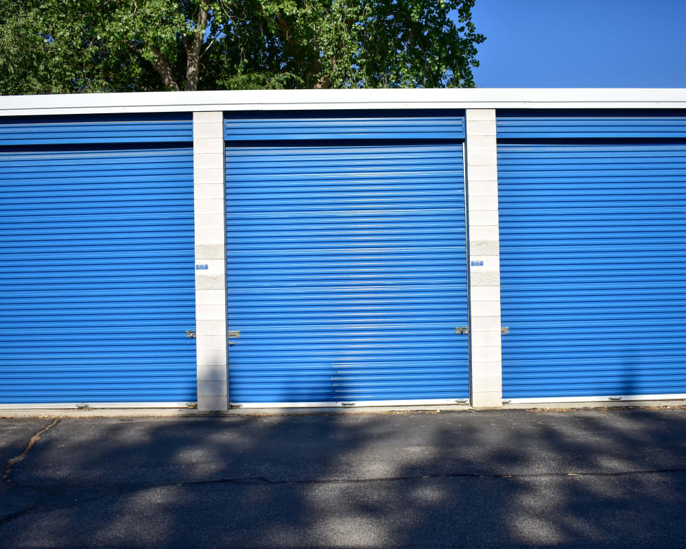Enclosed RV storage at STOR-N-LOCK Self Storage in Cottonwood Heights, Utah