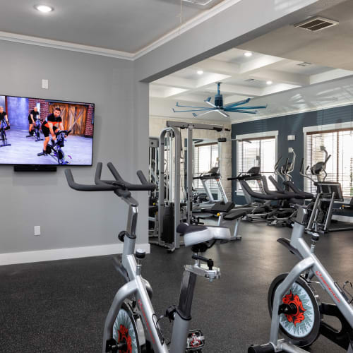 View virtual tour for the fitness center at The Retreat at Cinco Ranch in Katy, Texas