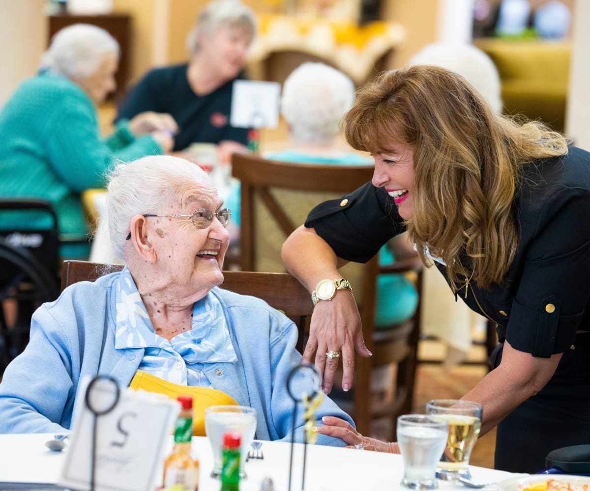 Assisted living services at The Springs At South Biscayne in North Port, Florida
