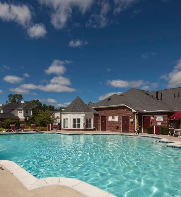 Sparkling pool at Briarcliff Village