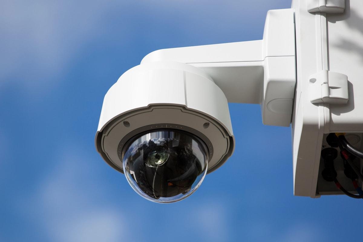 Digital security camera at Stor 4 Dayz in Sanford, Florida