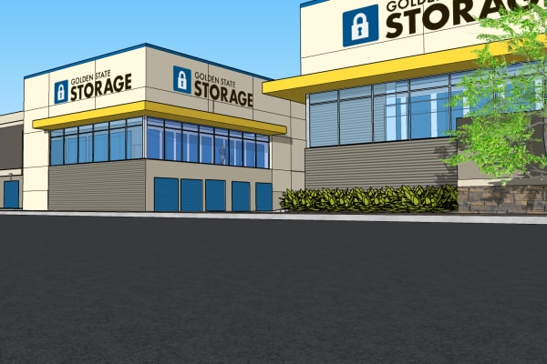 A rendering of Golden State Storage - Blue Diamond in Las Vegas, Nevada