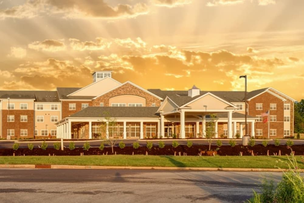 Exterior view of Arcadia Senior Living Clarksville in Clarksville, TN