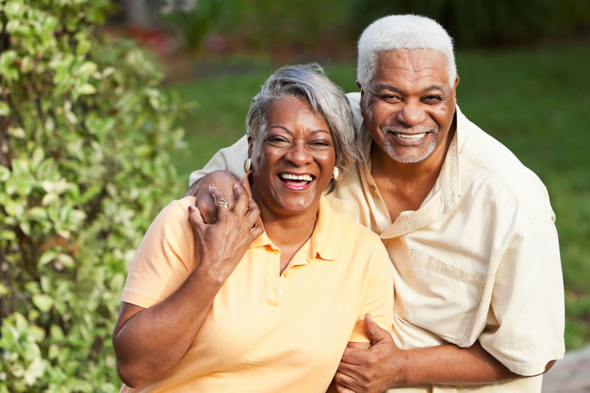 Happy couple at Omega Communities in Birmingham, Alabama