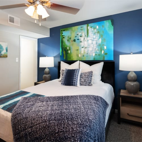 View virtual tour for 1 bedroom 1 bathroom unit at Hayden at Enclave in Houston, Texas