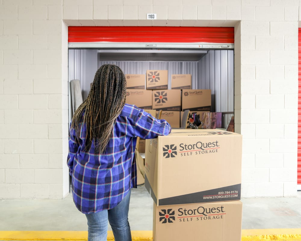 StorQuest Self Storage offers personal household storage
