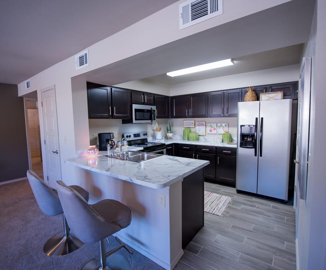 Kitchen at Icon at Hewitt in Hewitt, Texas
