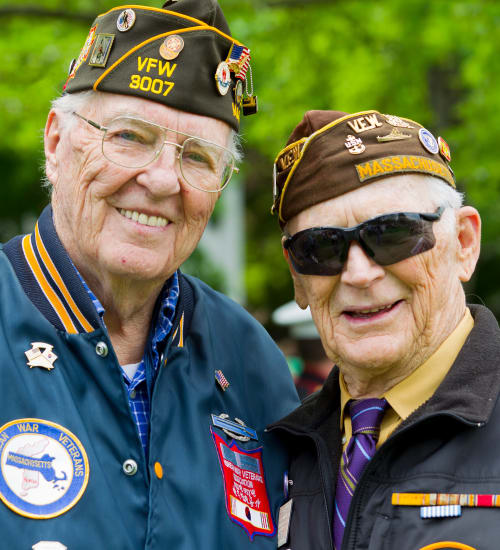 Listen to veterans interviews from Patriots Landing in DuPont, Washington.