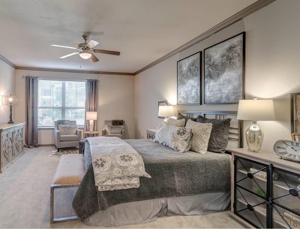 Apartment features at Caliza in Cedar Park, Texas