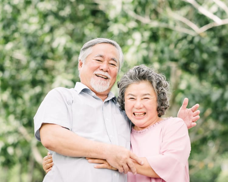 Couple at Harmony Senior Services