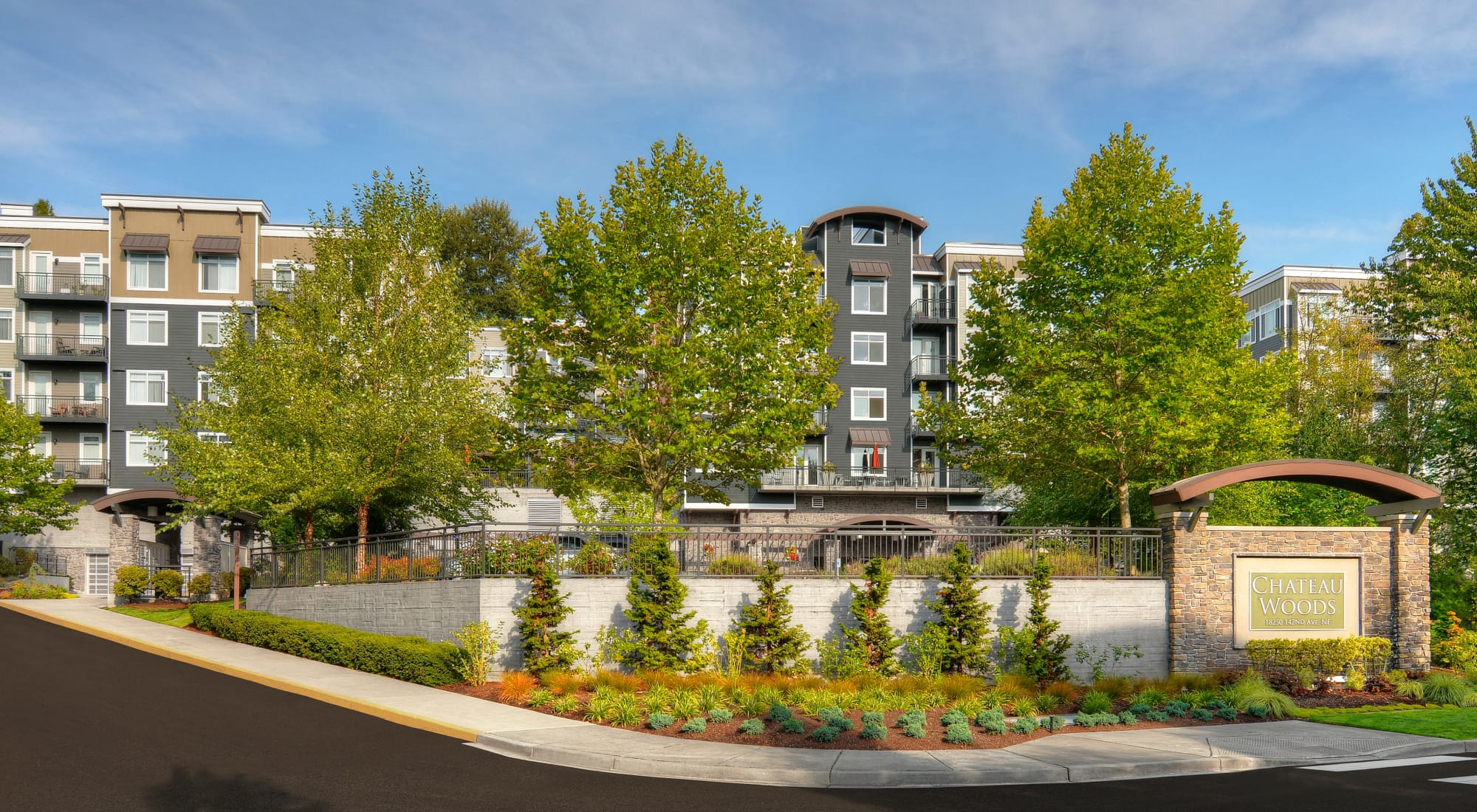 Chateau Woods Apartments for Rent Woodinville, WAin King County
