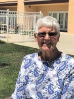Colleen, resident at Merrill Gardens at Santa Maria in Santa Maria, California.