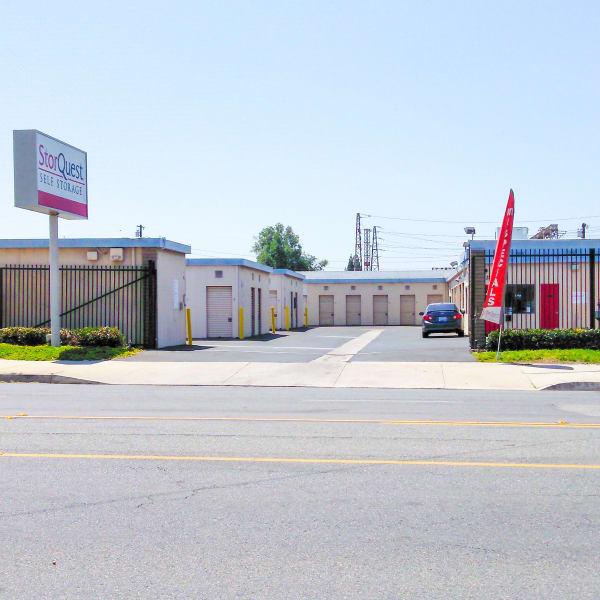 Exterior of StorQuest Self Storage in Lakewood, California