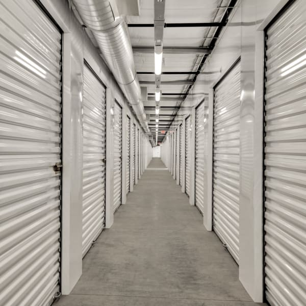 Climate-controlled units at StorQuest Self Storage in Bermuda Dunes, California