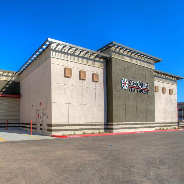 Exterior of StorQuest Self Storage in Scottsdale, Arizona
