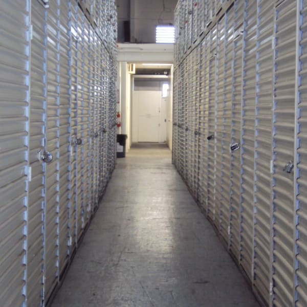 Climate controlled drive-up units at StorQuest Self Storage in Honolulu, Hawaii