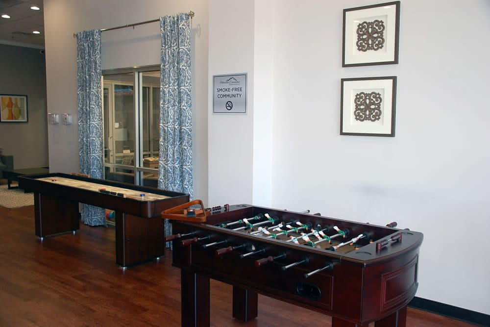 foosball is available at Pikeville Commons Apartments in Pikeville, Kentucky