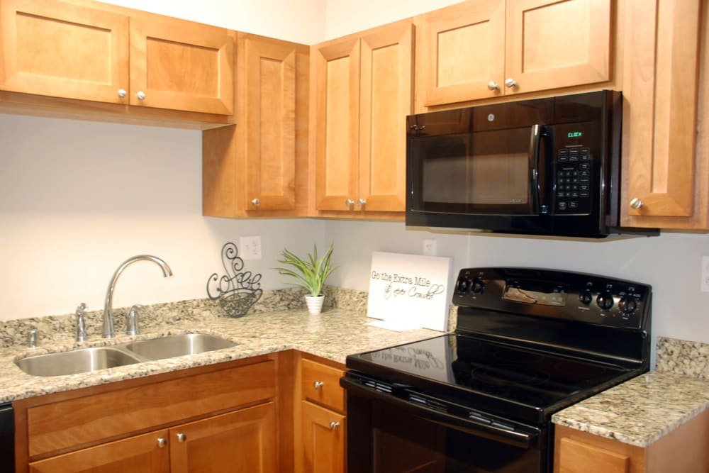 Kitchen at Apartments in Pikeville, Kentucky