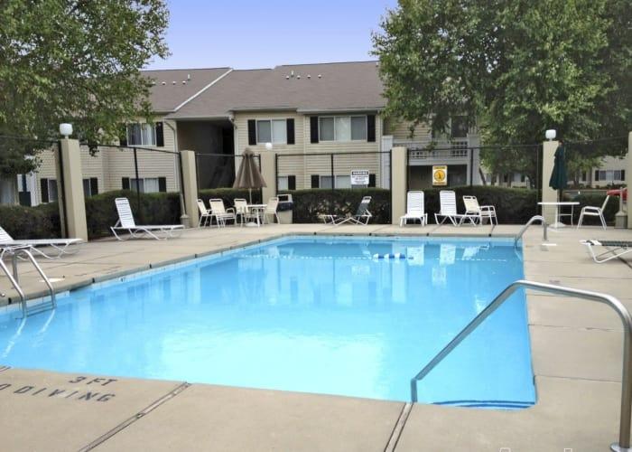 Refreshing pool at Crescent Oaks in Graham, North Carolina
