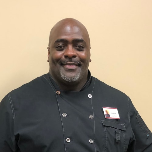 Hasan Culver, Culinary Executive Director of Keystone Place at Wooster Heights in Danbury, Connecticut