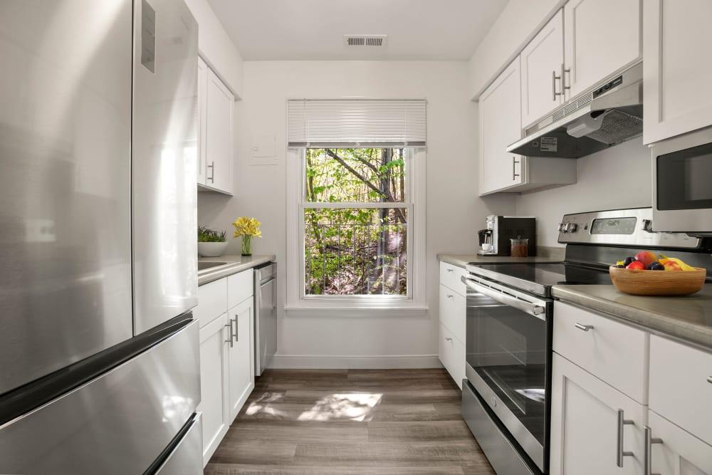 Kitchen at Stony Brook Commons in Roslindale, Massachusetts