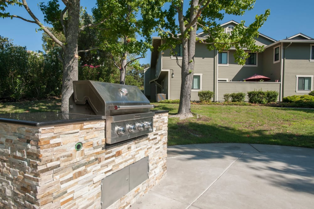 Barbecues at Ridgecrest Apartment Homes in Martinez, California
