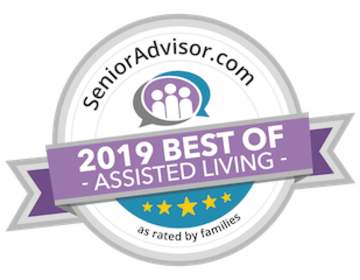 2019 best of senior living award for Heritage Hill Senior Community in Weatherly, PA