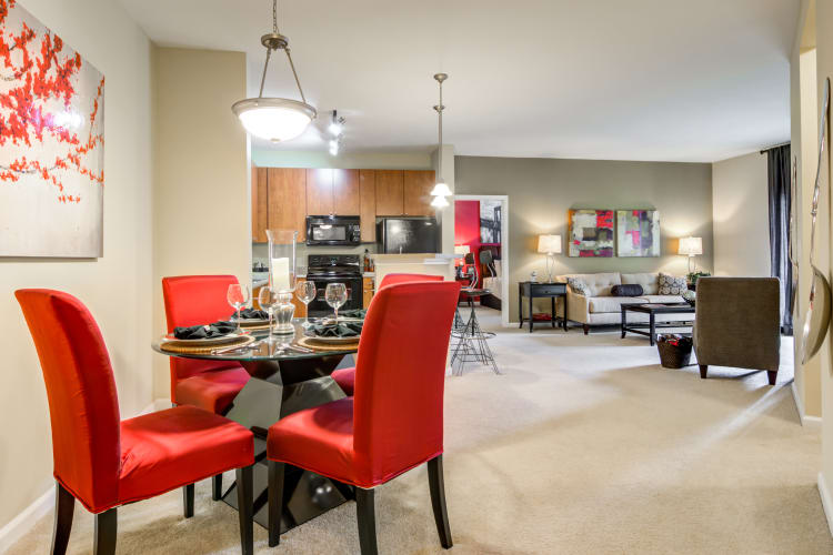 Spacious floor plans at The Maddox in Duluth, GA