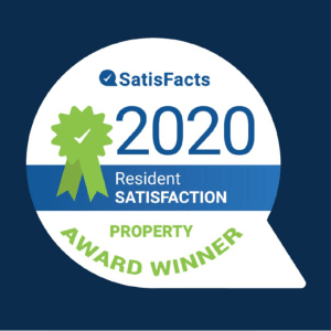 ComCapp in San Antonio, Texas was a ApartmentRatings Top Rated 2020