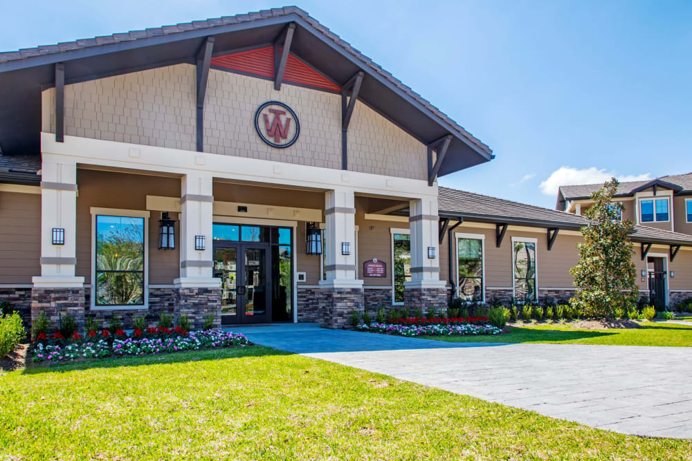 Leasing office at Waterford Trails in Spring, Texas