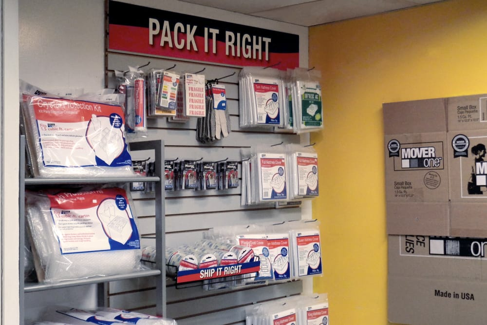 Get your packing supplies at Prime Storage in Somerville, Massachusetts